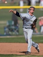 Snow Canyon High School senior Stephen Gubler throws