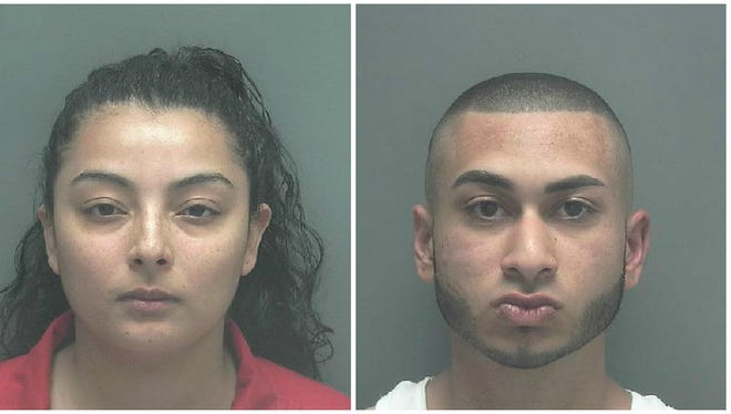 Ana Navarro and Matthew Michael, both 20, of Fort Myers were arrested after the couple had an argument and she stabbed him with a knife.