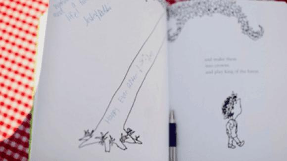 Children's Book as Guest Book