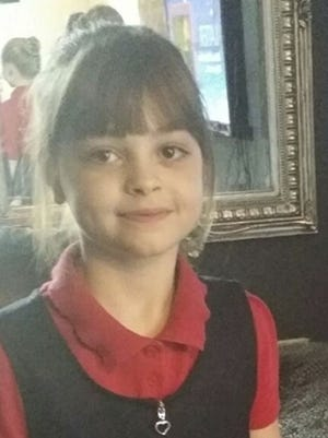 This is a an undated photo obtained by the Press Association on May 23, 2017, of Saffie Rose Roussos, one of the victims of an attack at Manchester Arena in England.