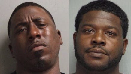 Curly Donnell Voorhies (left) and Terricke Jerome Payne