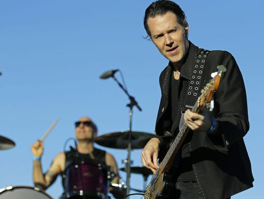 The BoDeans performing in 2016
