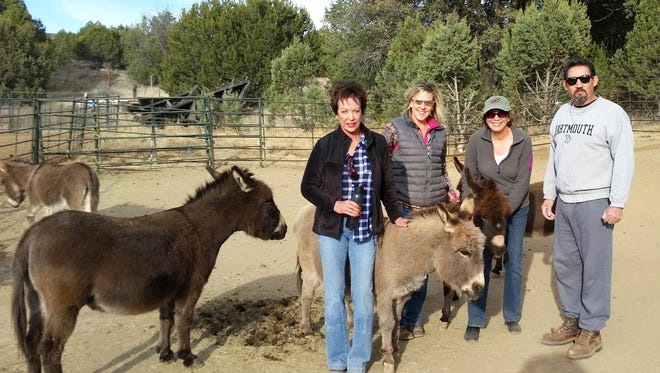 Grant County Trails Group plans hike with miniature donkeys on Sunday from 10 a.m. to noon.