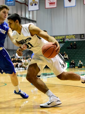 Binghamton University sophomore forward Nick Madray hasn't played since spraining his ankle in a Dec. 20 game against St. Bonaventure. He was cleared this week to start jogging.