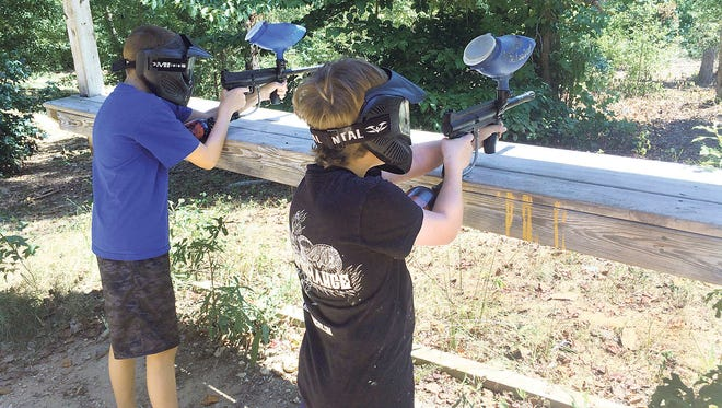 Red Fox Games in Woodruff offers lots of paintball fun.