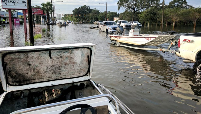 Citizens Assisting Citizens, including Rutherford County residents, traveled to Texas to help Hurricane Harvey victims.