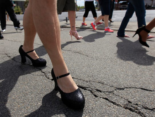 Heels and sore feet helped support the Muncie YWCA