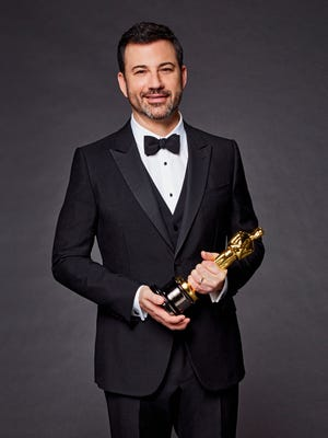 Jimmy Kimmel will host the  Oscars on Sunday, March 4.