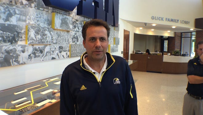 Michigan passing game coordinator Jedd Fisch