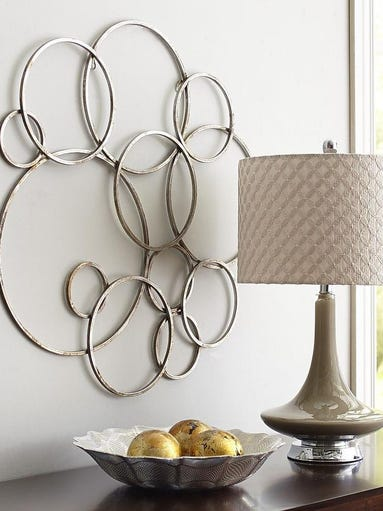 Completely new Pier One Circles Wall Decor: Ivory woodlands wall decor pier  YN71