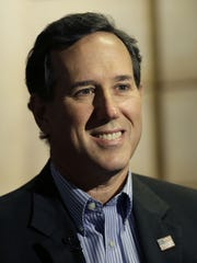 Former Pennsylvania senator Rick Santorum ran for the 2012 GOP presidential nomination.