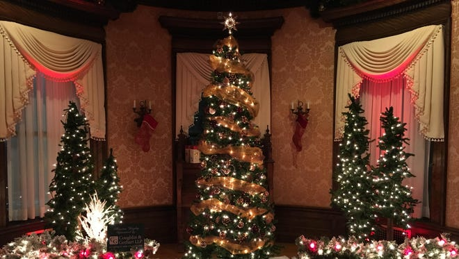 Home for the Holidays at Roberson Museum and Science Center includes dozens of community-decorated trees.