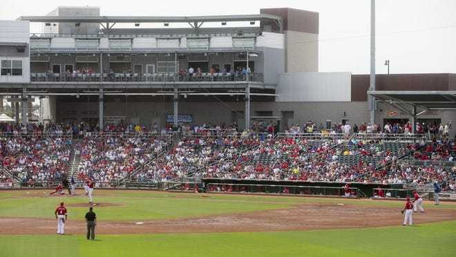 Goodyear Ballpark opened in 2009, with the idea the Arizona Sports and Tourism Authority would help pay for the facility.