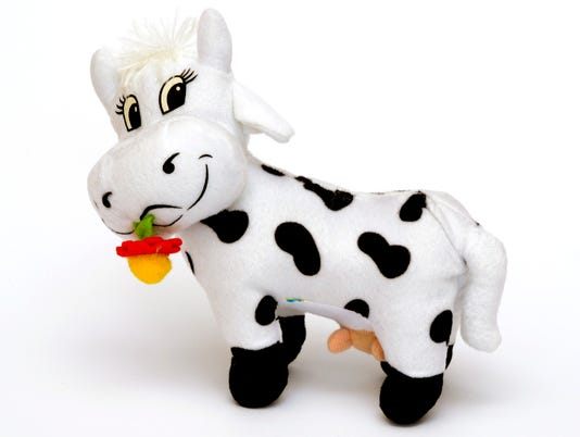 Soft toy cow