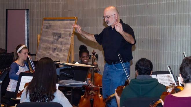 Youth Orchestra Conductor Toby Monte.