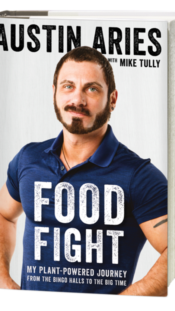 Yes, Austin Aries is a vegan wrestler. His new book seeks to answer your questions
