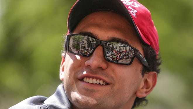 Carlos Huertas finished 17th in the 2014 Indianapolis 500