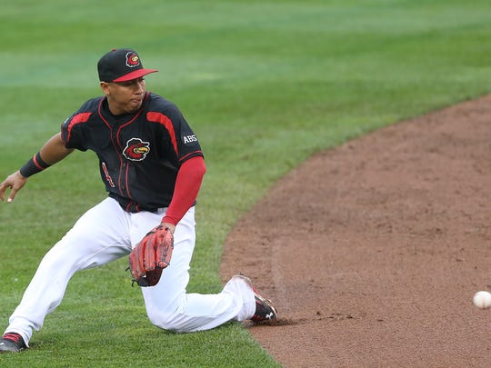 Wilfredo Tovar has provided sparkling defense at the shortstop for the Red Wings.
