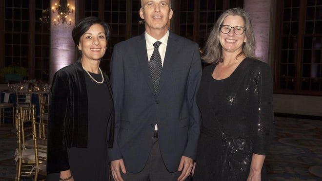 Marianne Lamonaca, Jon Mogul and Katherine Malone-France