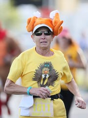 More than 2,100 runners and walkers took part Thursday in the 37th Annual Turkey Trot in Cape Coral.
