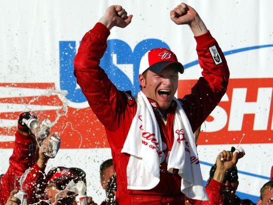 Earnhardt, seen in 2005, has grappled with concussions