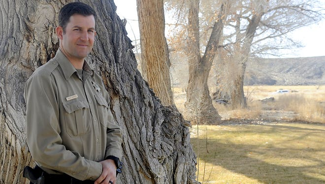 Randy Denter is the new park supervisor at Walker River State Recreation Area.