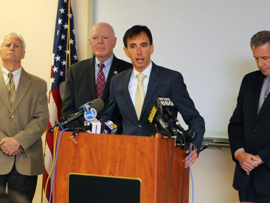 New Rochelle mayor Noam Bramson talks about the arrest