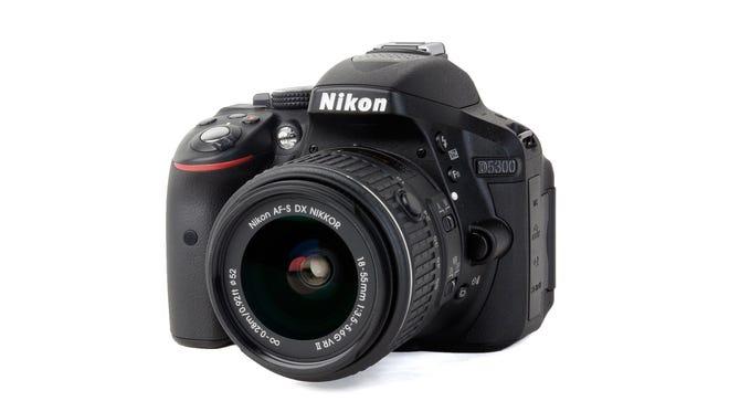 The Nikon D5300 DSLR.