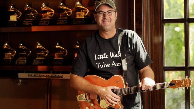 Country music star Vince Gill and one of Rochester's largest employers partner on contest.