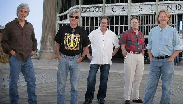 Members of Kinderhook today (L to R) John Korba, Jerry Kopychuck, Jim Ryan, Craig Barry and Andy Fediw (missing from the photo Gary Oleyar).
