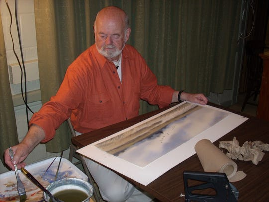 Watercolorist Willie Crockett will be one of the artists