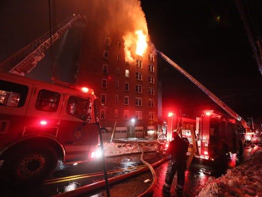Yonkers fire on Hawley Terrace