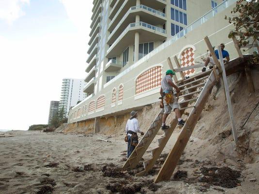 Superstorm Sandy in Florida