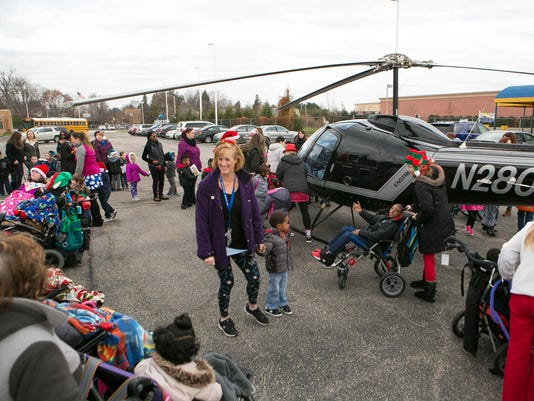 News: Helicopter Santa