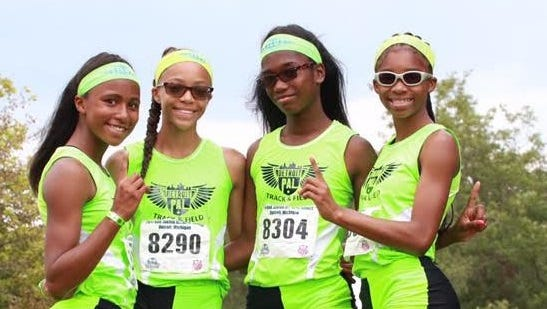 Detroit PAL offers many track opportunities for girls.