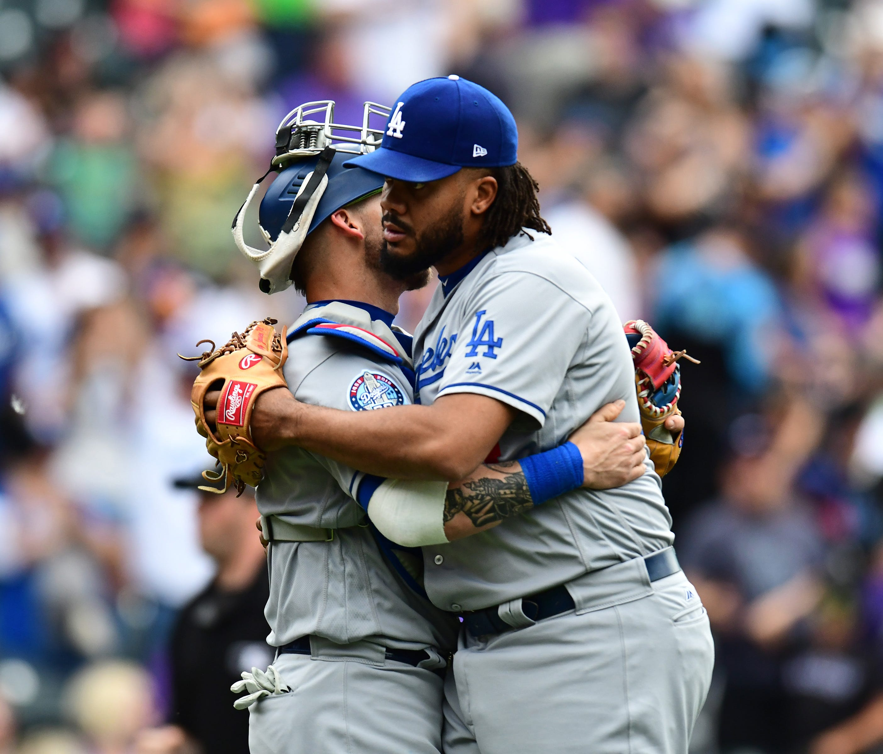 Kenley Jansen's early-season struggles hurt the Dodgers, but now he has 14 saves and a 1.04 WHIP.
