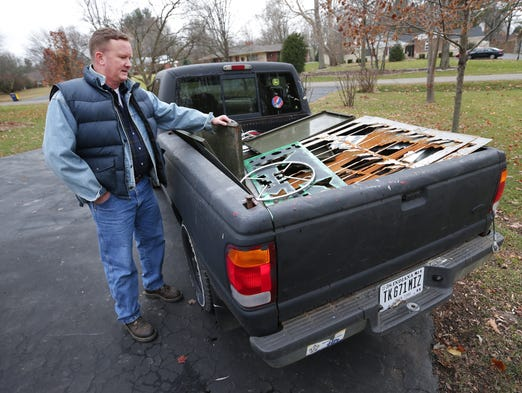 Broad Ripple Man Gives Reclaimed Metal A New Life As Art