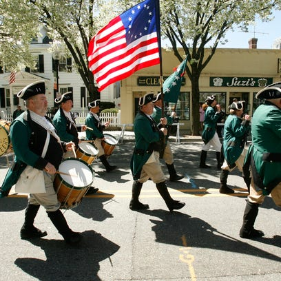 The St. Patrick's Day Parade in Morristown
