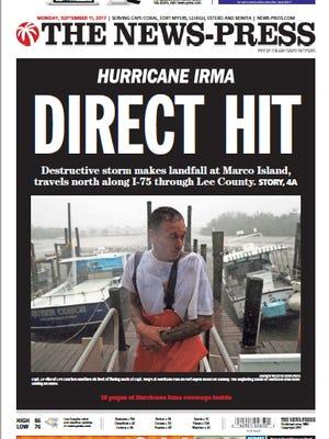 The News-Press Hurricane Irma Edition for Monday, Sept. 11, 2017.