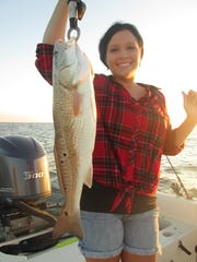 Anglers' catches often find their way to the dinner table at the Cat Island house.