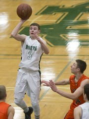 Shane Wissink, the leading scorer for the Oshkosh North boys basketball team, has helped his sister, Ashley, become a good basketball player. Ashley is one of two freshmen on the Oshkosh North girls varsity team.