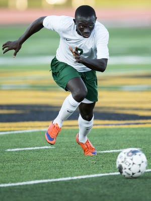 Oshkosh North senior Lamin Jarju was a first-team all-FVA selection last season and leads a talented group of attacking players for the Spartans.