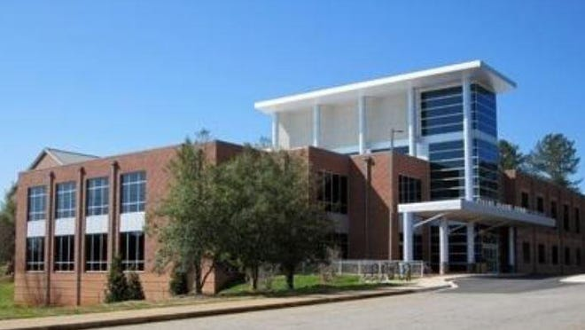 The Athens-Clarke County Library on Baxter Street.