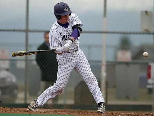North Kitsap baseball player Kyle Green earned All-Olympic League 2A most valuable player honors this spring.
