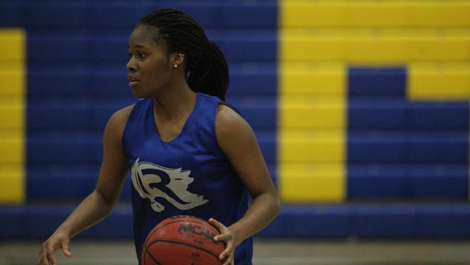 Rickards junior Tamia Riles is averaging 18 points per game this season for the Raiders (21-2).