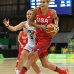 U.S. women rout Canada to clinch Group B basketball