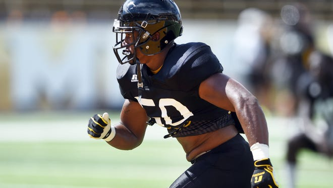 Southern Miss linebacker Allen Fails has impressed the coaching staff as a junior walk-on.