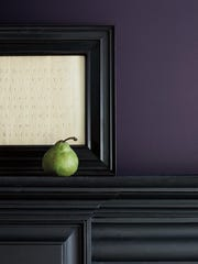Shadow, Benjamin Moore's Color of the Year.