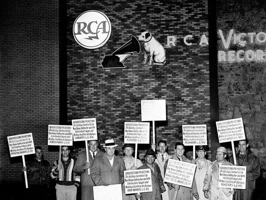 Union members of the Nashville Building and Construction