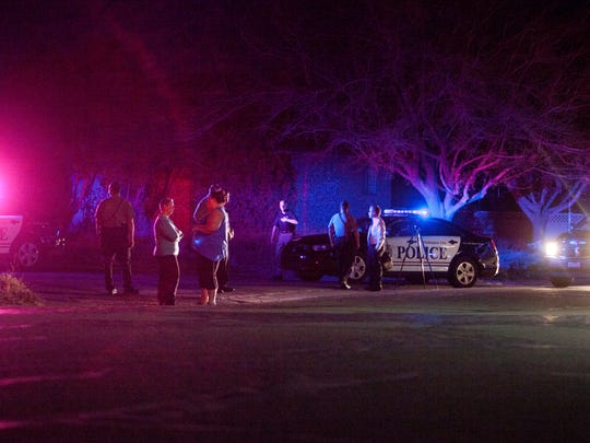 One person was reported dead after a Tuesday night shooting in Washington City, about two to three blocks from the Washington City Community Center.
